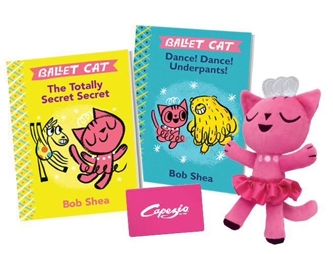 Ballet Cat - Kids Book Series Giveaway!