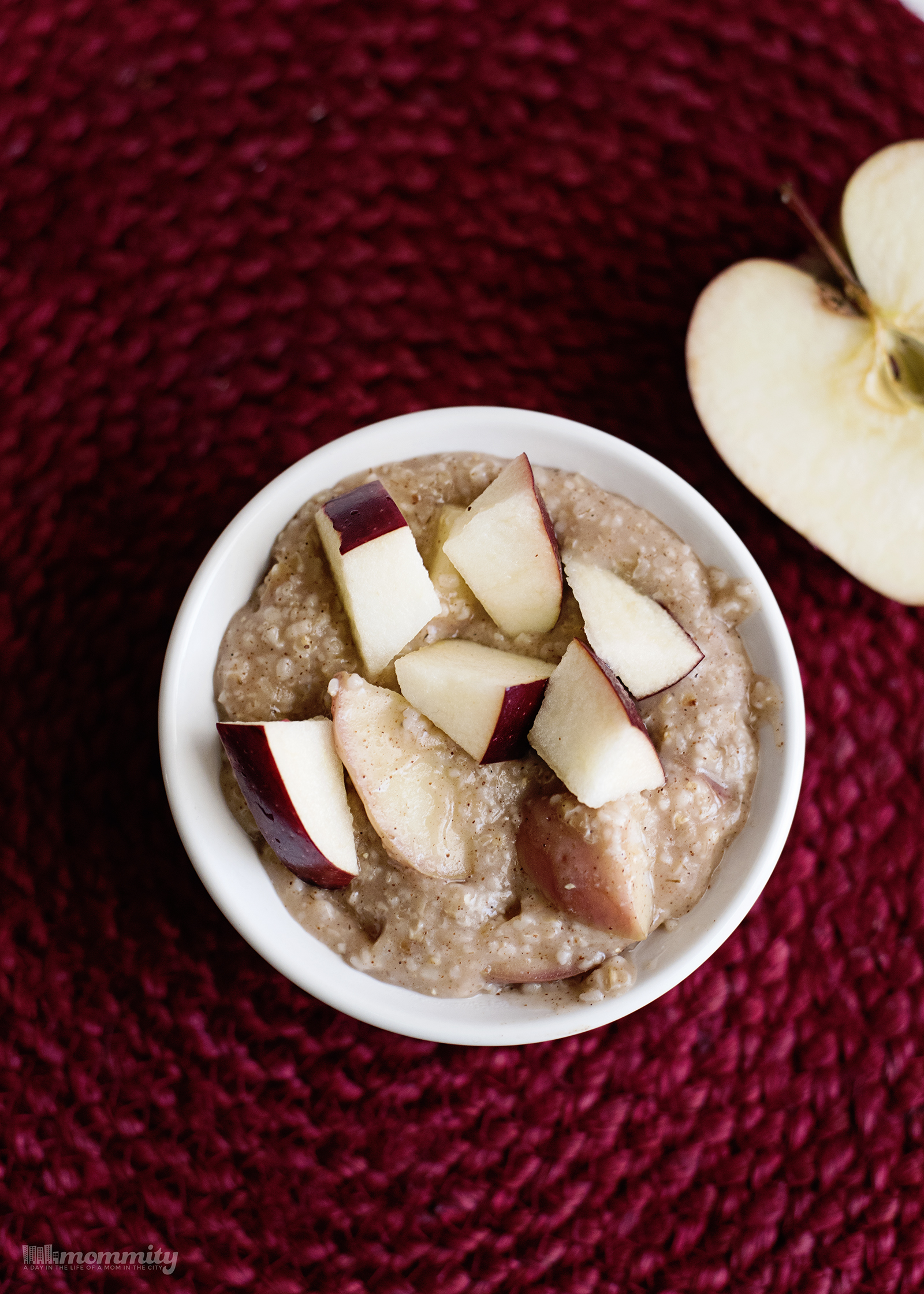Steel Cut Oats for One - Warm Apple Pie Oatmeal