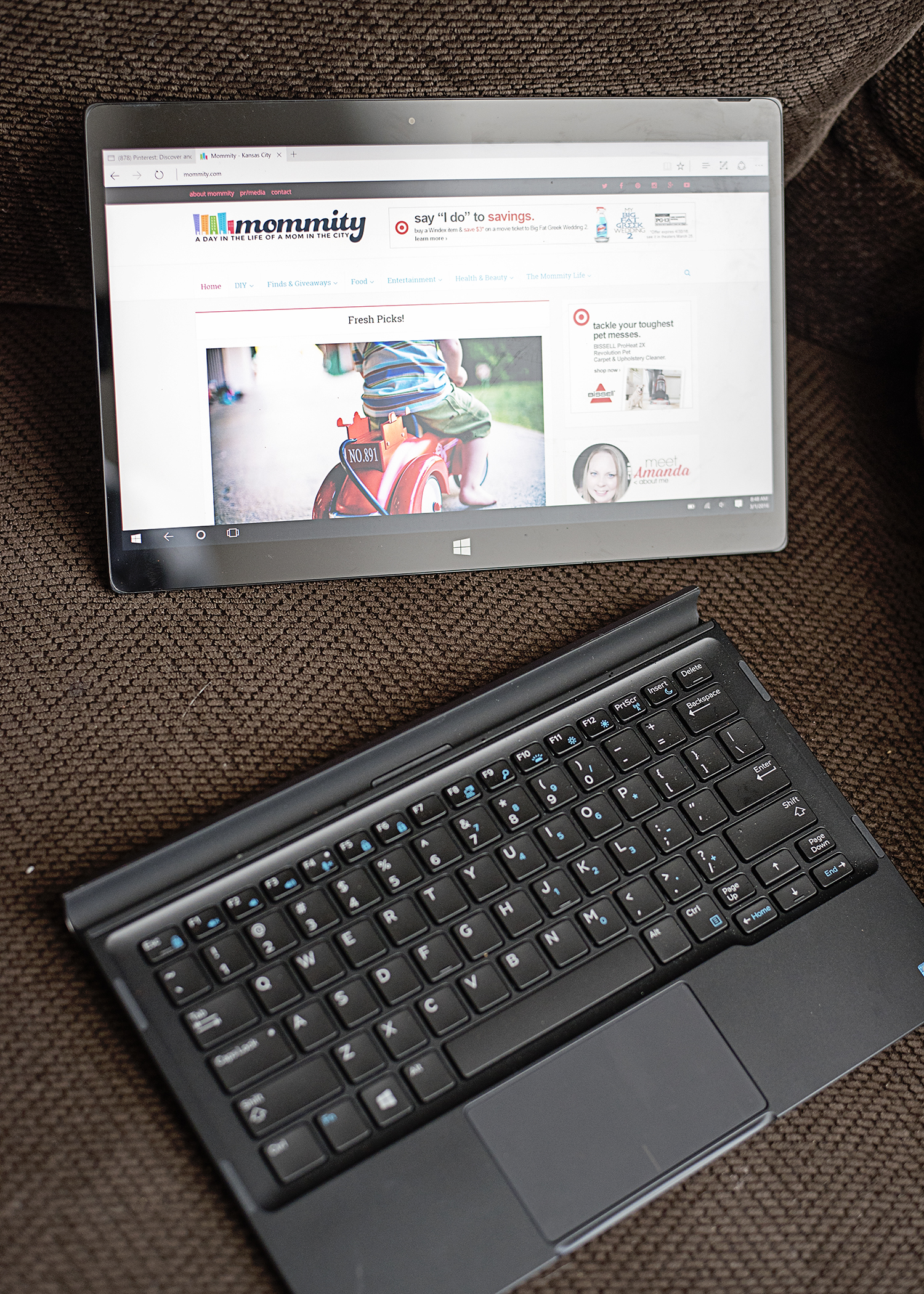 Mom-treprenuer Made Easy with the Dell XPS 12!