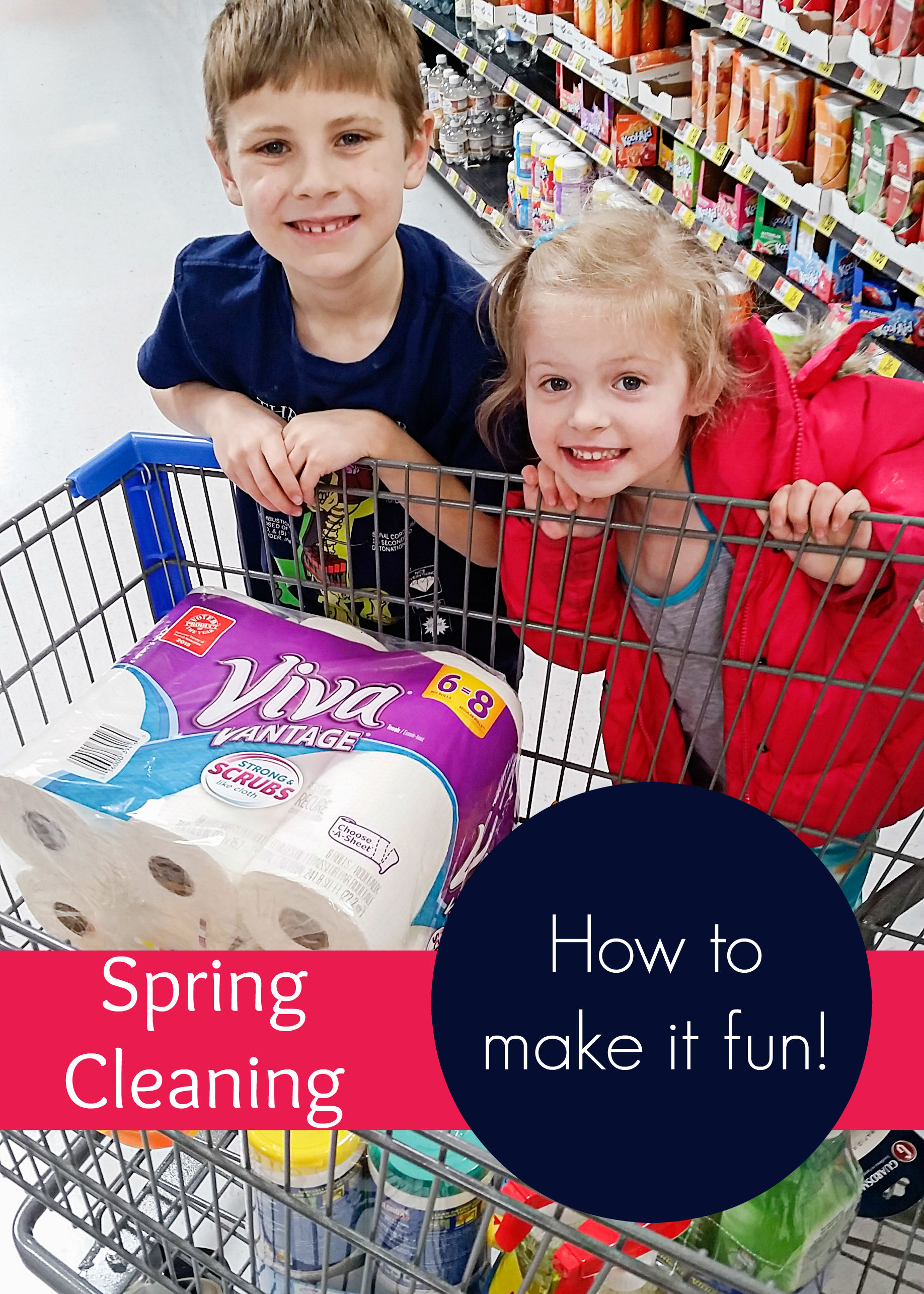 How I Make Spring Cleaning Fun for the Kids!
