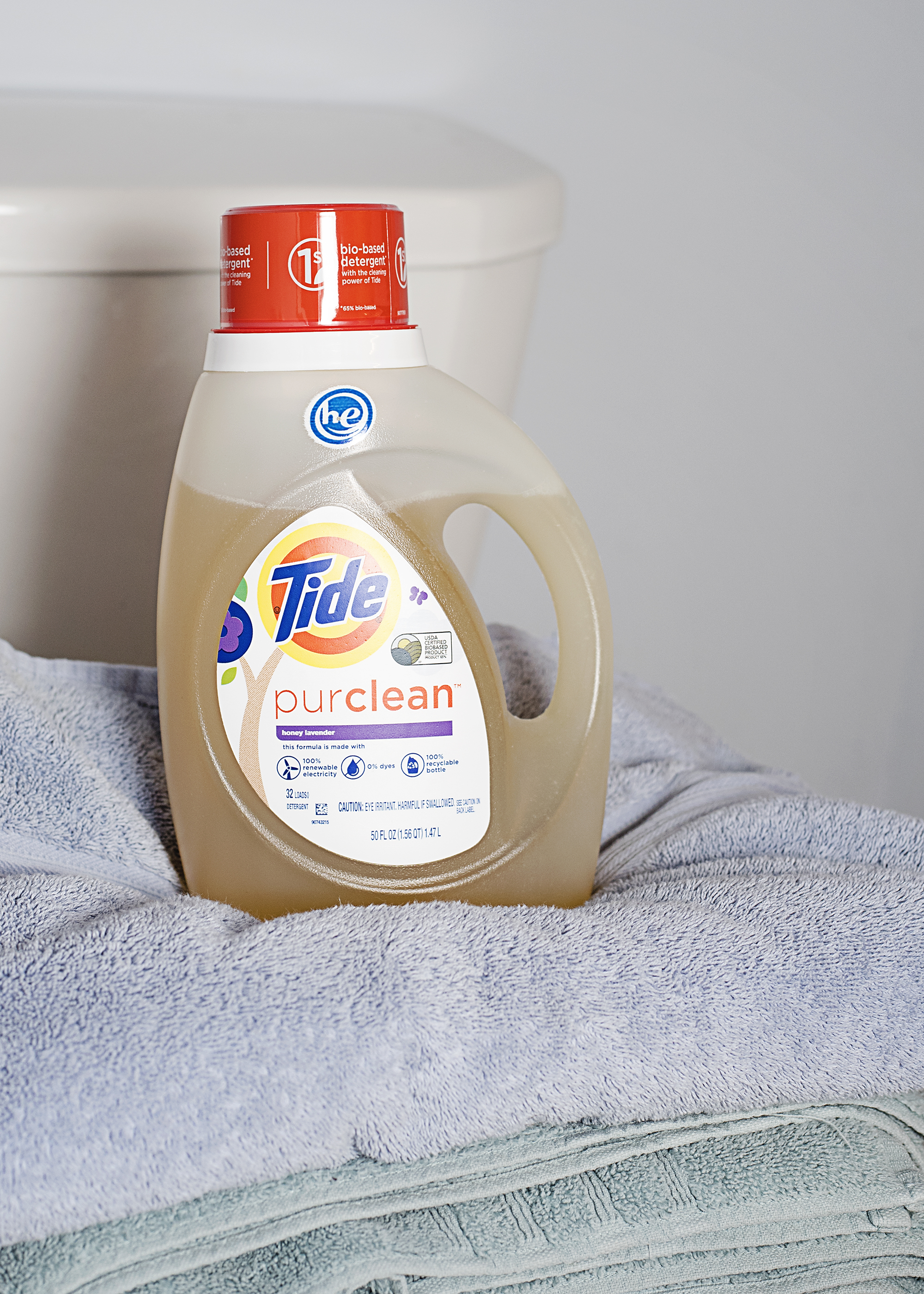 Taking Laundry to a Whole New Level with Tide purclean