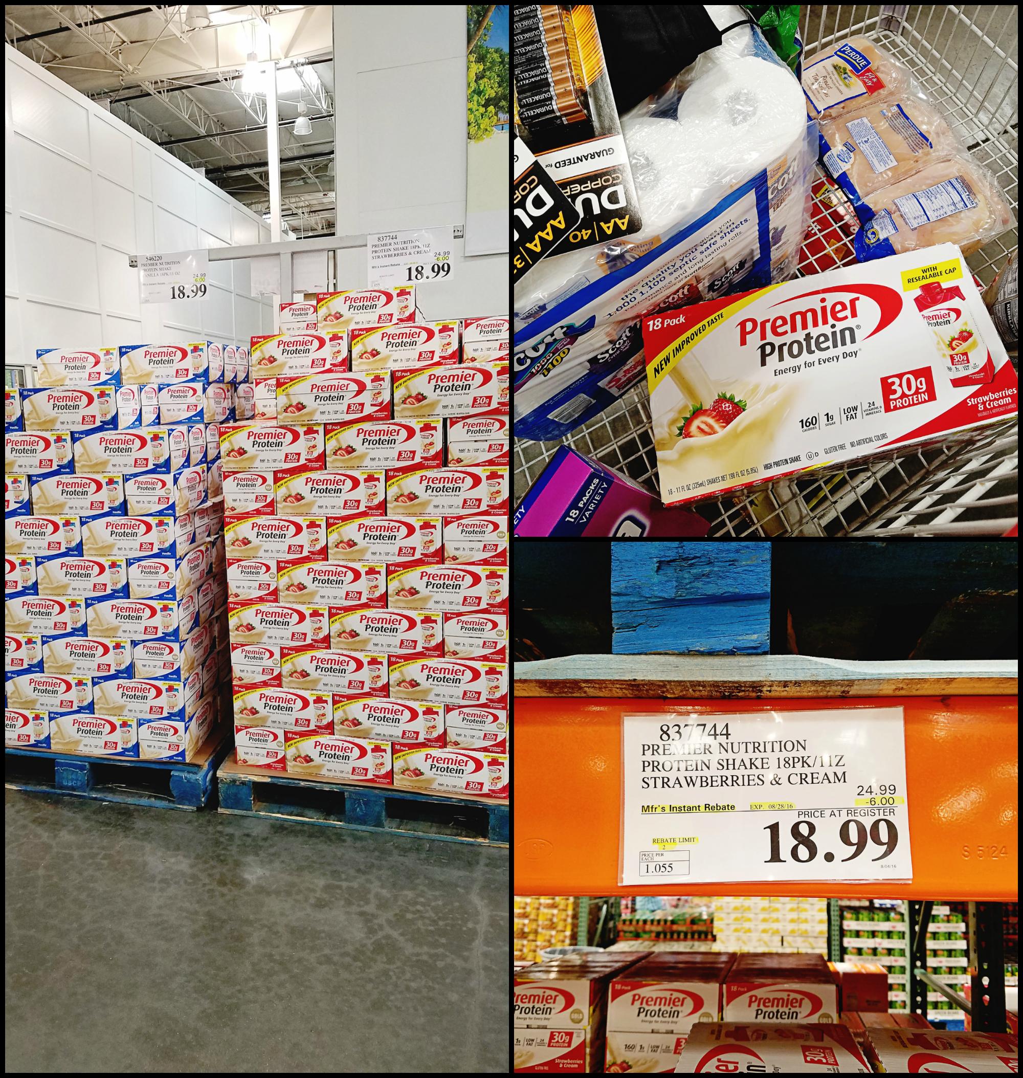 Premier Protein $6.00 Off Sale at Costco!