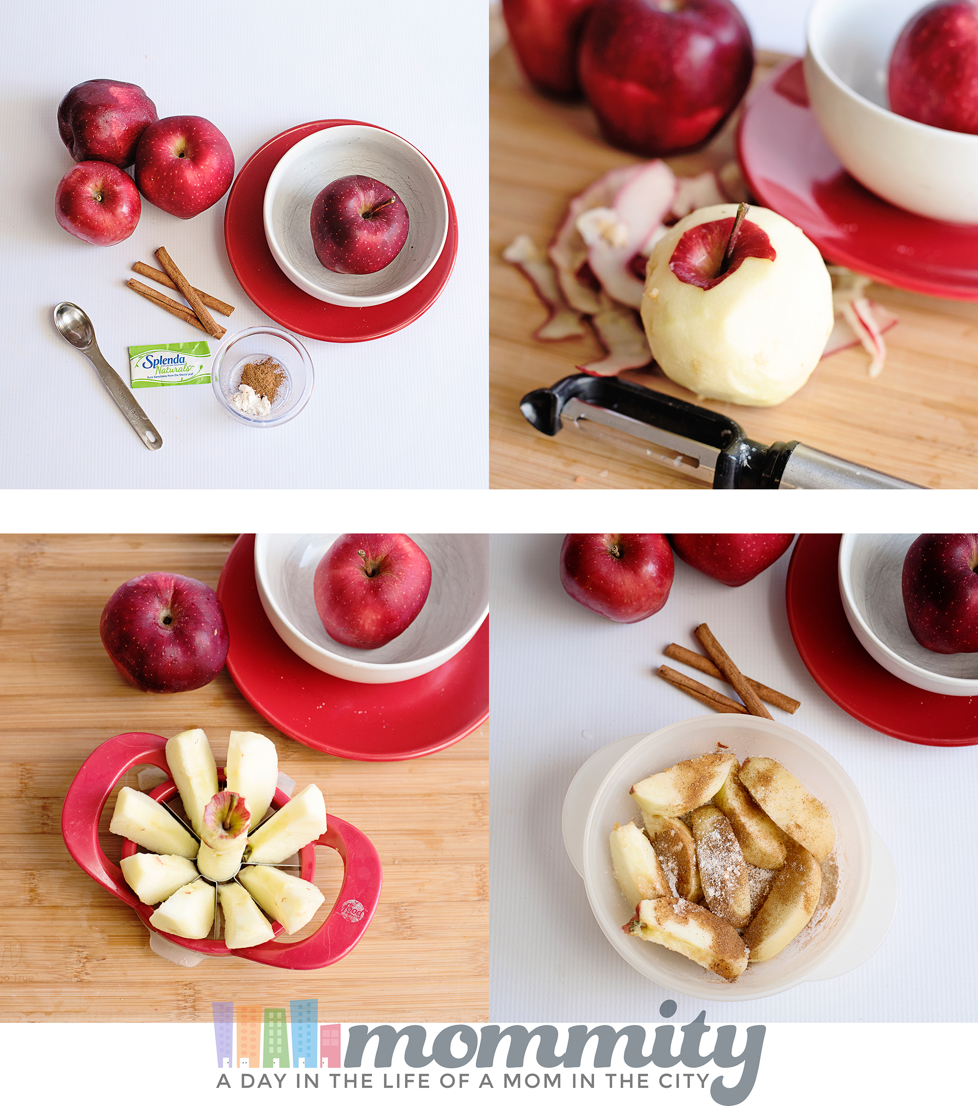 Looking for an easy baked apple recipe? This recipe can be whipped in the microwave and will become a favorite at 0 Weight Watchers Freestyle Points! Perfect on Weight Watchers or any other low calorie diet.