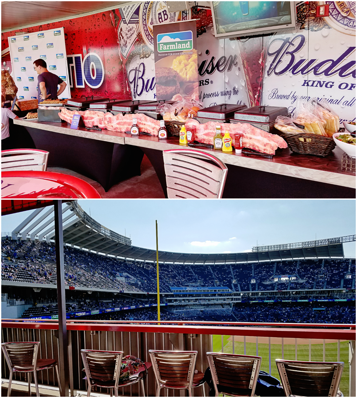 Bacon Day at the 'K' with Farmland - International Bacon Day