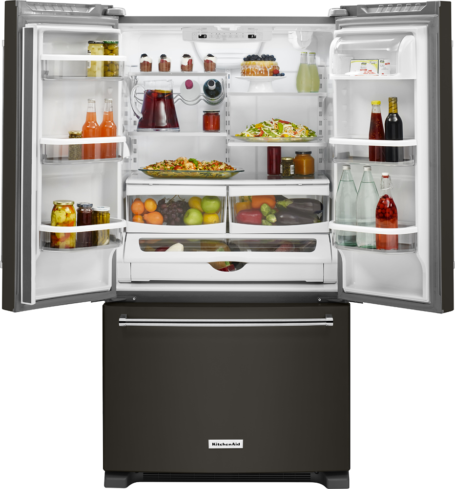 This is the First-Ever Black Stainless Suite of Appliances