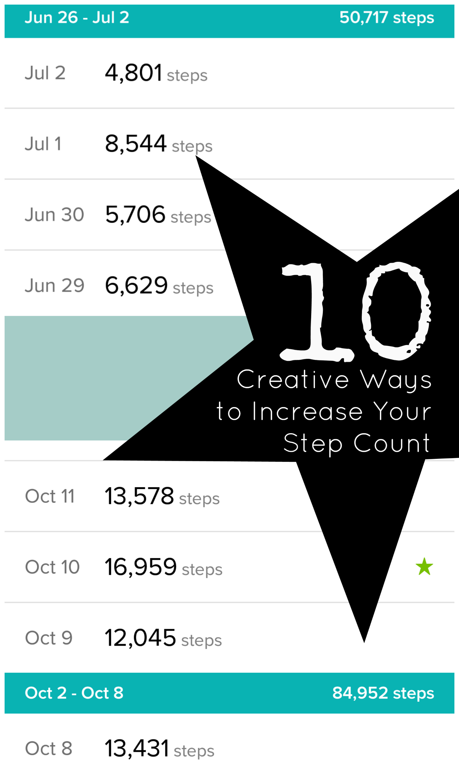 10 Creative Ways to Increase Your Daily Step Count