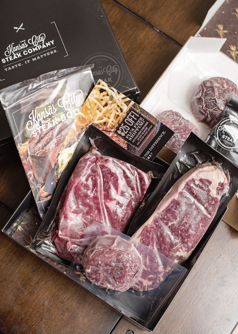 Celebrate the joy of coming together with a gift package from Kansas City Steak Company