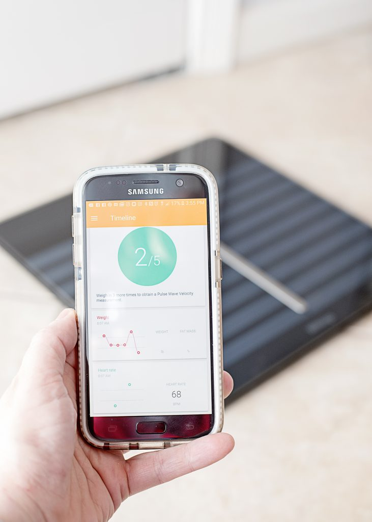 Healthy New Years Resolutions : The Key to Success - Withings Body Cardio Scale