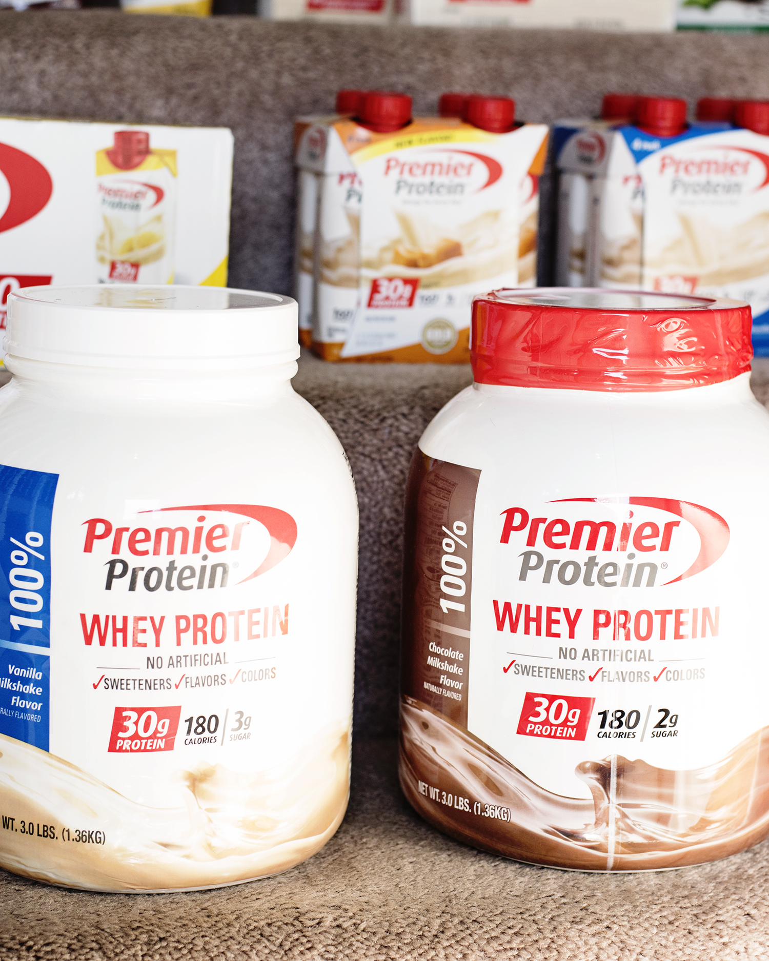 My Exciting News! Power Lifting? Premier Protein? 2017 is a BIG Year!