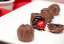 Chocolate Covered Cherry Oreo Cookie Balls