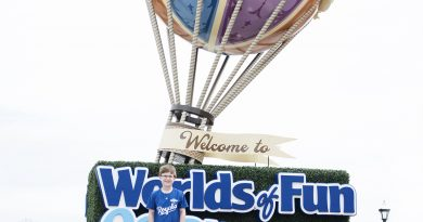 Worlds of Fun in Kansas City Opening Weekend 2017