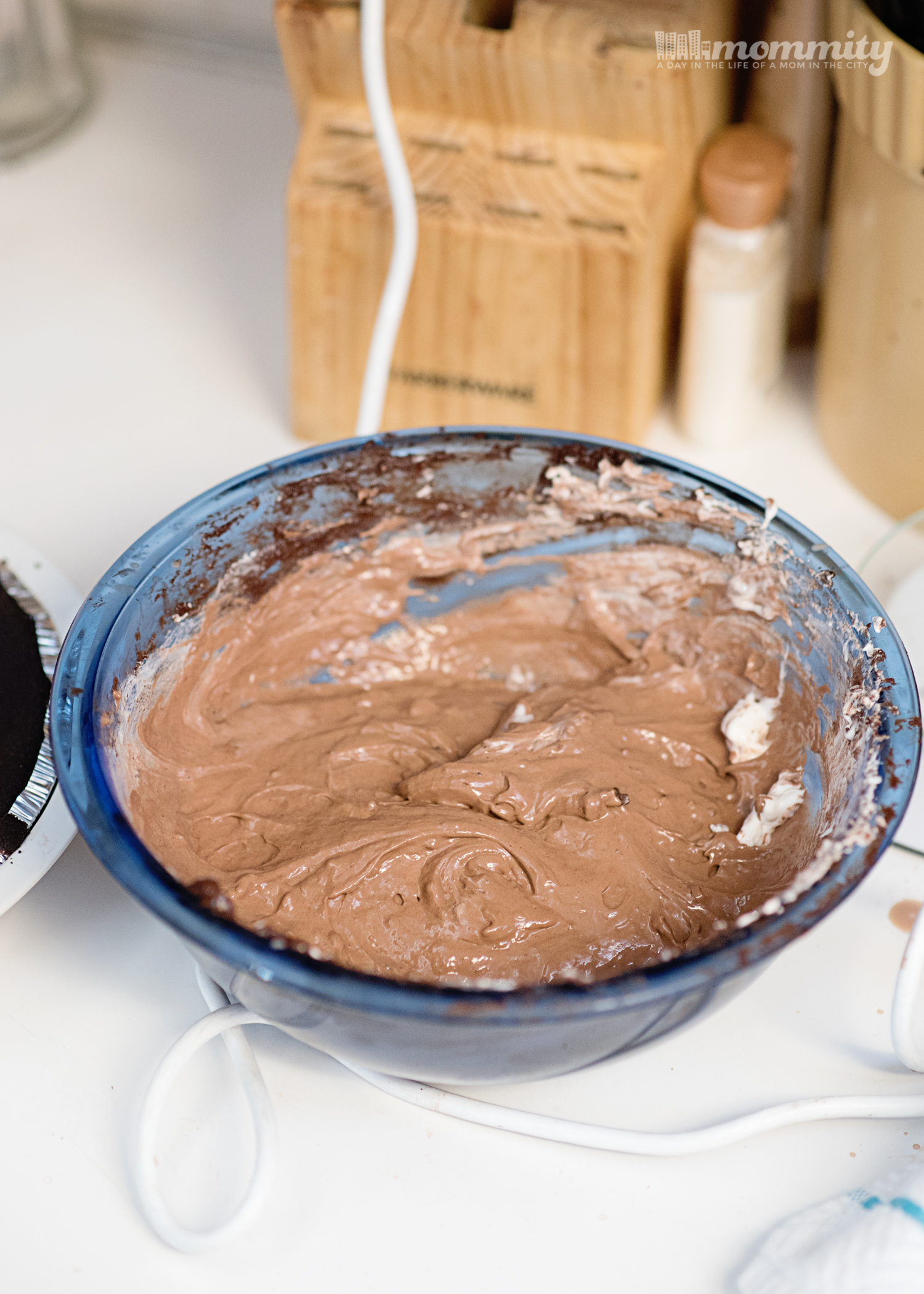 No Bake Chocolate Pudding Pie - Protein Packed & Perfect for Summer!
