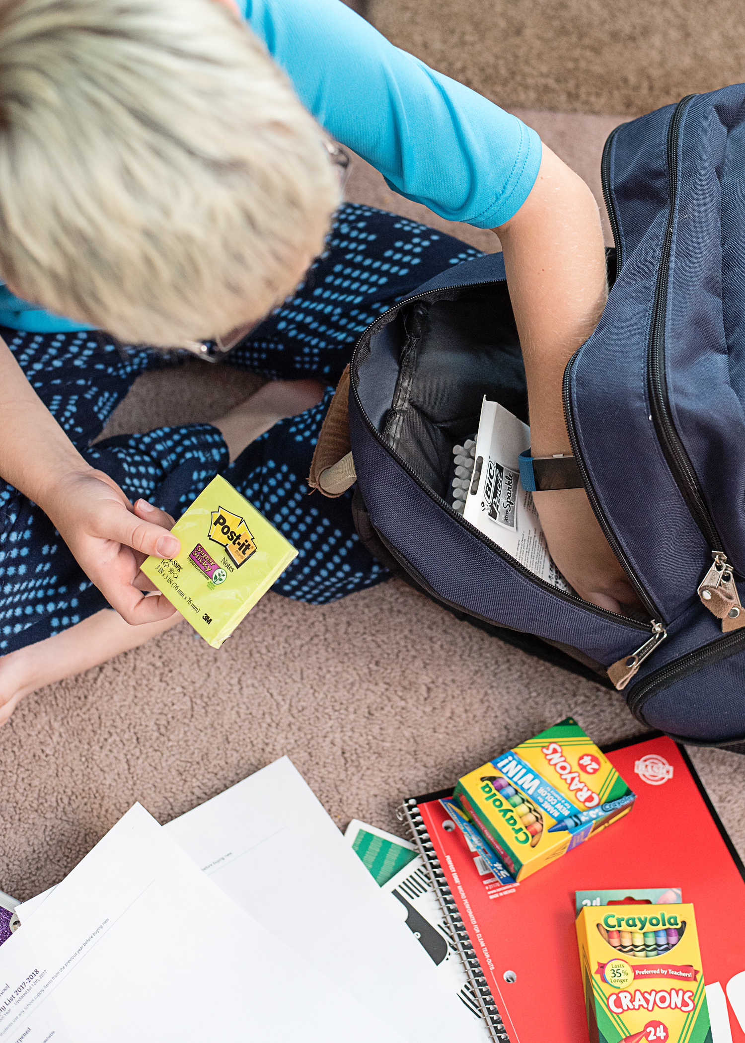 How to Shop Your Back to School Supplies List With Ease