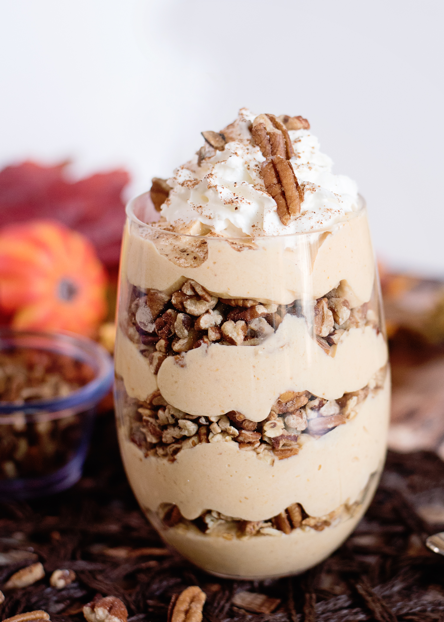 Get Your Fall On With This Pumpkin Spice Greek Yogurt Parfait