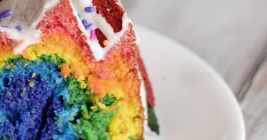 How to Make A Rainbow Cake Recipe from Scratch