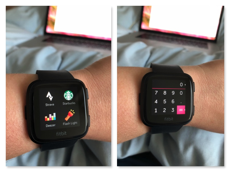 Take Your Workouts Outdoors with the Fitbit Versa Watch