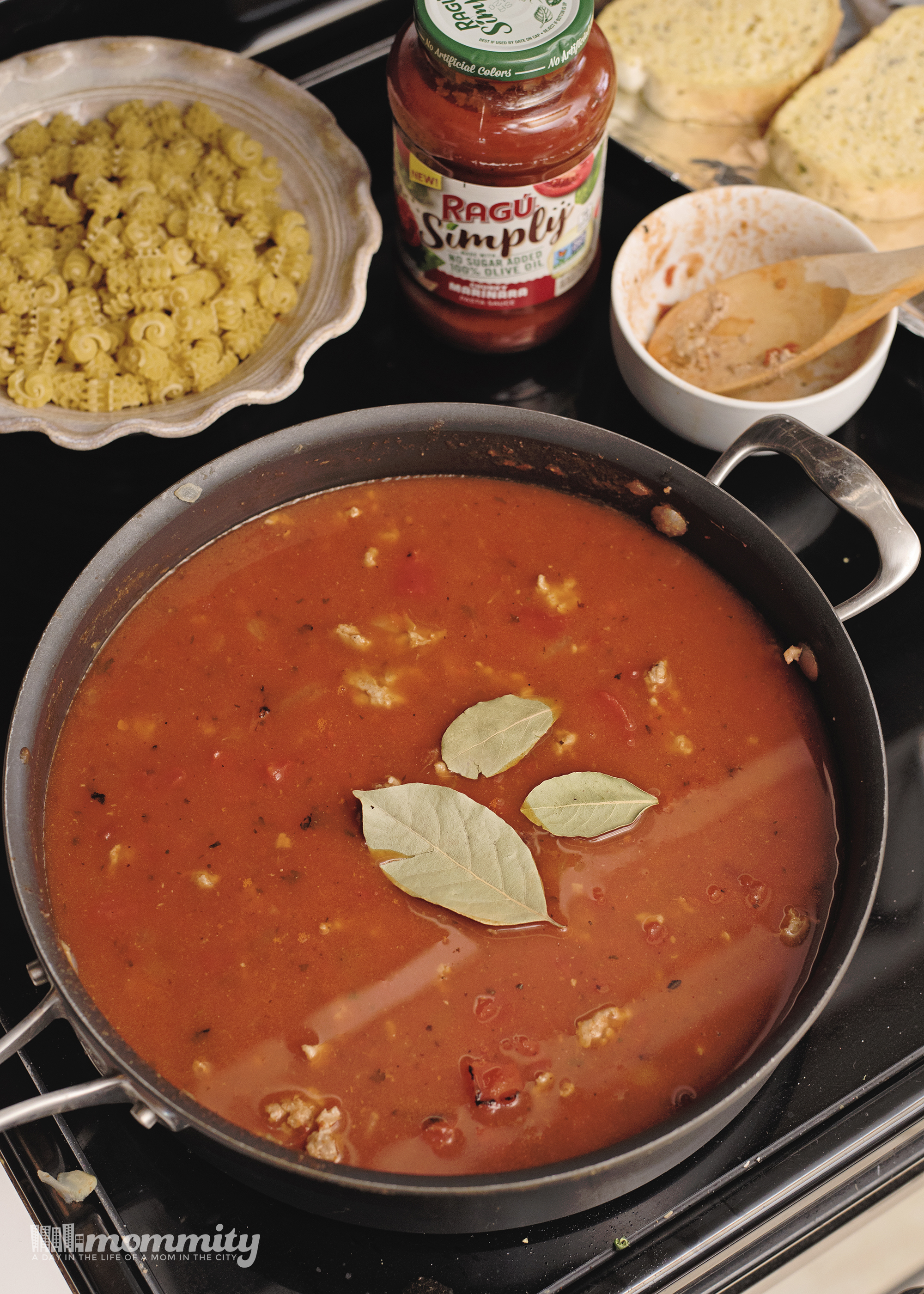 Fast & Easy Stove Top Lasagna Soup